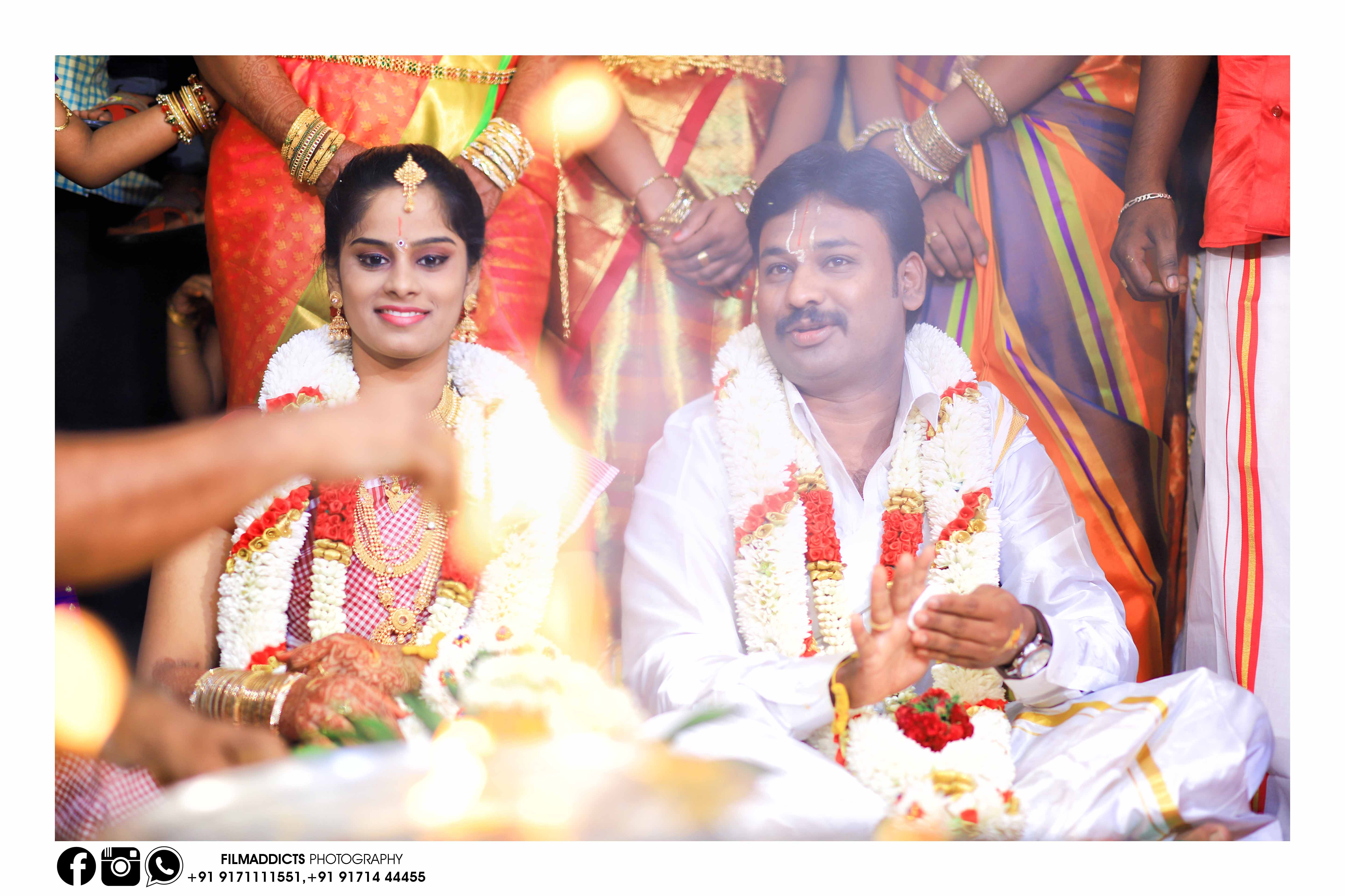 Best Hindu Wedding Photographers in Madurai - Filmaddicts Photography